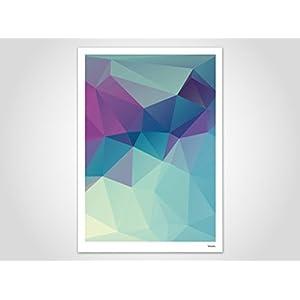Sealife / Poster, Kunstdruck, Bilder, Kunstdrucke, Deko, skandinavisch, Papier, Pastell, Marmor, Blumen, Rosen, geometrisch, Frühling, Sommer