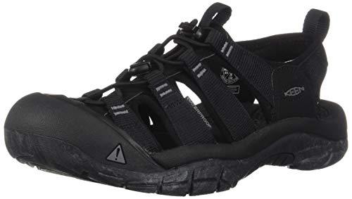 KEEN Herren Newport H2 Aqua Schuhe, Mehrfarbig (Black/Swirl Outsole 1020285), 46 EU