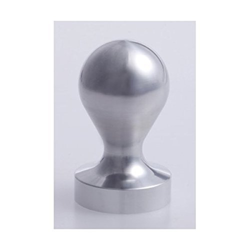 Espresso tamper 50mm for that was cut out from the coffee workshop Nana steel round bar (japan import)