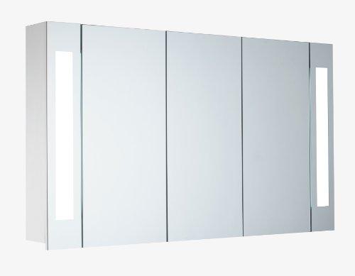 Lichtspiegelschrank - Mebasa Lichtspiegelschrank T5, Softclose