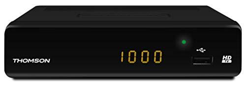 THOMSON THT504+ digitaler terrestrischer HD Receiver (DVB-T, USB 2.0, HDMI, EPG, Kindersicherung, Teletext, Fernbedienung) für Digitale Free-to-Air-TV- und Radioprogramme