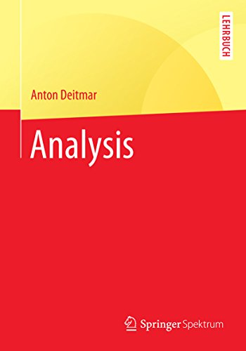 Analysis (Springer-Lehrbuch)