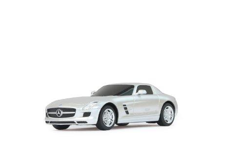 Jamara 404106 - RC Mercedes SLS AMG 1:24, 27 MHz, silber