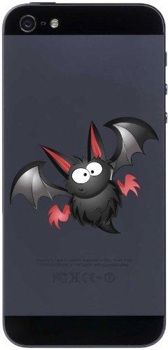 Handy-Aufkleber - Fledermaus 07 - bat - handy skin - 50 mm Aufkleber