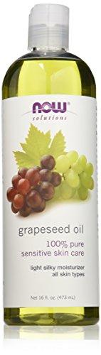 Now Foods Solutions I Grape Seed Oil (Traubenkernöl) I Zur Hautpflege I 473ml flüssig