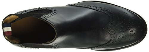 Hilfiger Denim D2385illan 10a3, Bottes Classiques homme Noir - Noir (990)