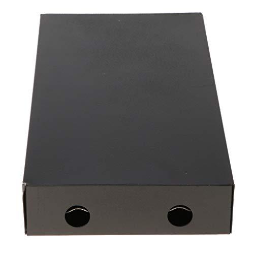 H HILABEE 8 SC Glasfaser Spleißkassetten Gehäuseanschluss Blackbox Für Optisches Kabel -