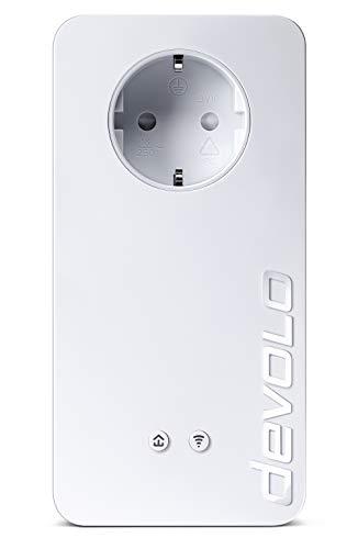 devolo dLAN 1200+ WiFi ac Starter Kit Powerline (bis zu 1200 Mbit/s WLAN ac, 2,4 und 5 GHz gleichzeitig, 2x LAN Ports, 2x Powerlan Adapter, Gigabit-Verbindung, WLAN Empfang verbessern , Access Point)