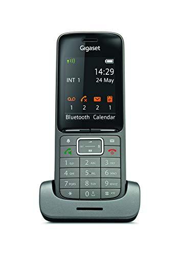 Gigaset SL750H PRO Business DECT Telefon für Büros - perfekte Kommunikation dank glasklarer Audioprofile - Design Telefon aus hochwertigen Materialien - mit Micro USB Schnittstelle, anthrazit