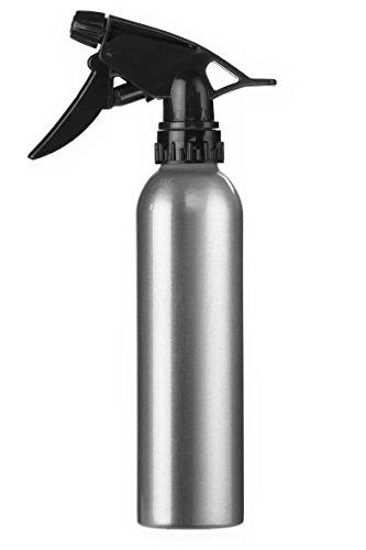 Eurostil Vaporisateur d'eau en aluminium de 280 ml atomiseur pulvérisateur coiffeur