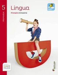 LINGUA 5 PRIMARIA SABER FACER - 9788499722160
