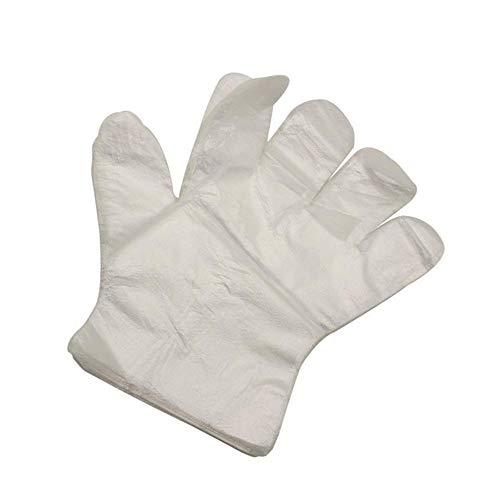 schuhe aus Kunststoff für Restaurants, Hausdienst, Gastronomie, Hygiene, Einweg-Handschuhe, 500 Stück ()