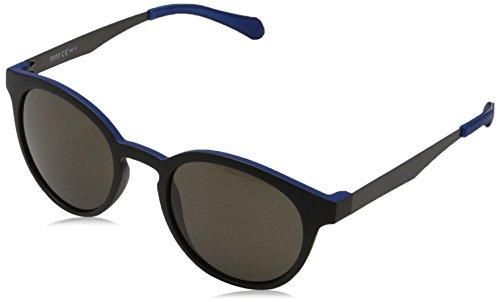 BOSS Hugo Unisex-Erwachsene 0869/S Nr Sonnenbrille, Schwarz (Mtblck Dkrut/Brw Grey), 51