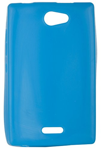 iCandy™ Colorfull Thin Soft TPU Back Cover For Nokia Asha 502 - Turwuoise  available at amazon for Rs.160