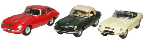 Oxford Diecast Jaguar E-Type Triple Gift Set for sale  Delivered anywhere in Ireland