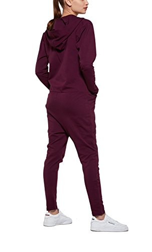 OnePiece Damen Jumpsuit UNO, Violett (Burgundy), 36 (Herstellergröße: S) - 2