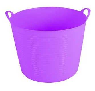small-flexi-flexible-plastic-tub-tubs-bucket-for-gardening-building-laundry-purple