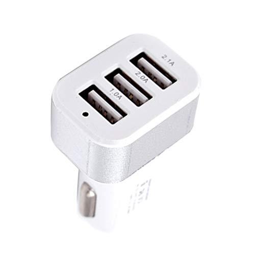 Uzinb DC 5.0V 2.1A Adattatore / 2A / 1A Universal Car Charger 3 Porte USB Phone Ricarica Rapida USB accendis