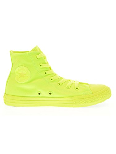 Converse - Converse Ctas Hi Chaussures de Sport Orange Jaune