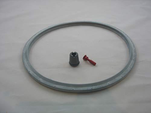 Reparaturset für Schnellkochtopf Tefal SEB Sensor Dichtungsring 22cm für 4 + 6 Liter + Ventil
