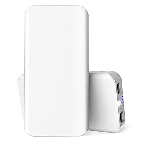 25000mAh powerbank Externer Akku Portable externer Ladegerät mit 2 USB Ausgangen extrem hohe Kapazitat Powerbank für iPhone, iPad, Samsung Galaxy Tablet, Kameras, PSP und andere Smartphones