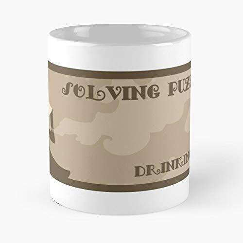 Professor Layton Video Games Ds 3Ds Tea Puzzle Solve - Best 11 Ounce Ceramic Coffee Mug Gift (Video Catcher)