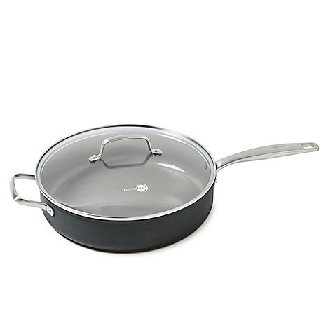 GreenPan Chatham Covered Saucepan Ceramic with Hard Anodized Exterior - 5 quart by The Cookware Company