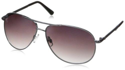 union-bay-womens-u889-aviator-sunglassessilver-black64-mm