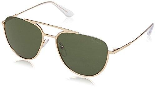 Prada Herren 0PR50US 5AK1I0 56 Sonnenbrille, (Gold/Green)