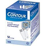 Ascensia Contour Microfill Blood Glucose Test Strip (50 Count) [Box Of 50]