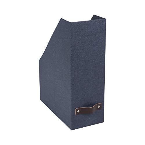 Bigso Estelle Canvas Papier Laminat Stehsammler Box Navy