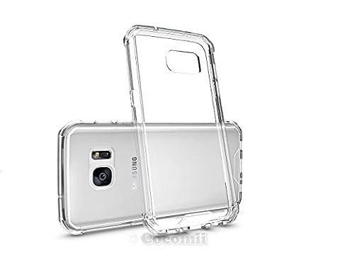Galaxy S7 Hülle, Cocomii Modern Armor NEW [Crystal Clarity] Premium HD Clear Anti-Scratch Shockproof Hard Bumper Shell [Slim Fit] Full Body Ultra Thin Lightweight Transparent Cover Case Schutzhülle Samsung (Crystal Clear)
