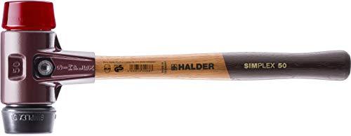 SIMPLEX-Schonhämmer, mit Stahlgussgehäuse und hochwertigen Holzstiel | Ø=40 mm | 3026.040