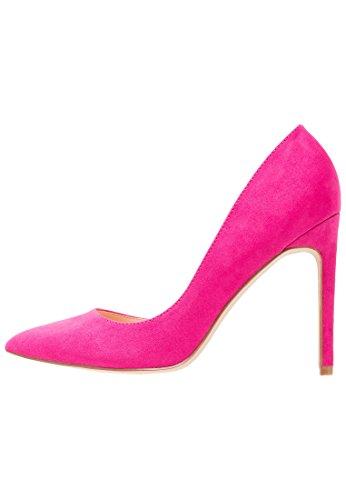 Even&Odd High Heel Pumps - Absatzschuh für Damen in Wildleder Optik- Damenpumps in Pink, Größe 37