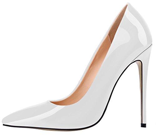 Guoar - Scarpe chiuse Donna Bianco (bianco)