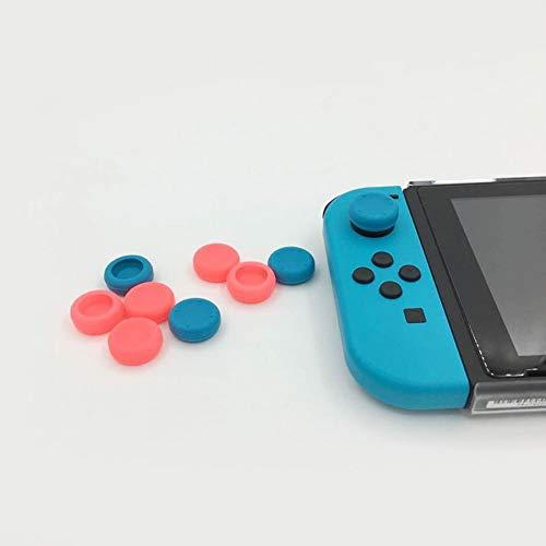Cubierta Suave de la Palanca de Mando de Gamepad del Casquillo del palillo del Pulgar del Gel del silicón para el Interruptor de Nintend (precio: 0,10€)