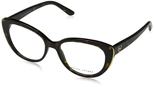 Ralph Lauren Damen Brillengestelle 0RL6172 Braun (Dark Havana) 53