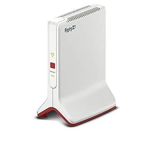AVM FRITZ!Repeater 3000 (drei Funkeinheiten: 5 GHz (bis zu 1.733 MBit/s), 5 GHz (bis zu 866 MBit/s), 2,4 GHz (bis zu 400 MBit/s), 2x Gigabit-LAN, deutschsprachige Version)
