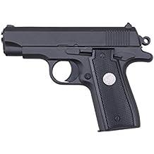 Galaxy G2 Minipistola tipo Colt M1911 de muelle, culata de metal, 0,5 J, para disfraz