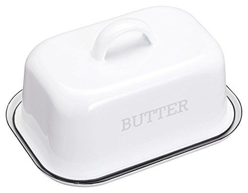 kitchencraft-living-nostalgia-vintage-butterdose-emaille-mit-deckel-weiss-2-teilig