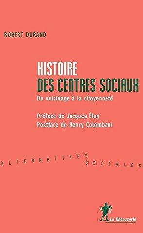 Histoire des centres sociaux