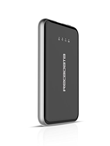 Drive Transfer-bank (irecadata i7 128GB Wireless Wifi External Portable USB 3.1 Solid State Drive SSD Built in 2250 mah Power Bank For iPad iPhone Samsung android cellphone,App controlled and fast data transfer function)