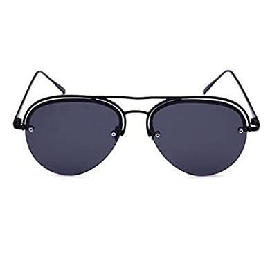 MYLL Polarisierten Damen Sonnenbrille Anti-UV-Metall Doppel Border Brillen