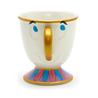 """Authentique Disney Mug Zip Personnage de """"La Belle et la Bête"""""""