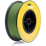 BEEVERYCREATIVE CBA110344 BEESUPPLY PLA Filament für 3D Drucker, 1,75 mm, 330 g, A114, Gelbgrün - gut und günstig