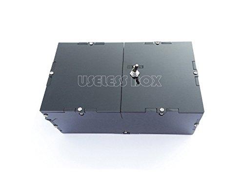 Schwarze nutzlose Box mit Überraschung - Useless Box (überraschung-box)