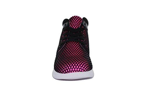 Findlay - Basket Compensé Avec Filet De Tissu - Femme Rose