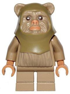 Lego Star Wars Minifigur Ewok Warrior aus 10236 (sw508) (Minifiguren Lego Ewok)