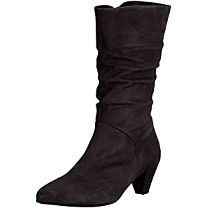 Gabor Shoes Fashion, Stivali Alti Donna, Nero (Schwarz 17), 39 EU