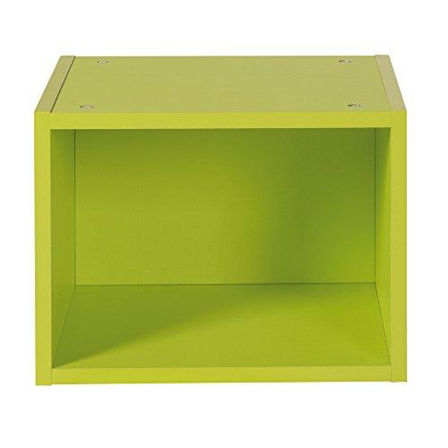 roba 72101 GR - Boxx für Wickelkommode zum Kinderzimmer, grün